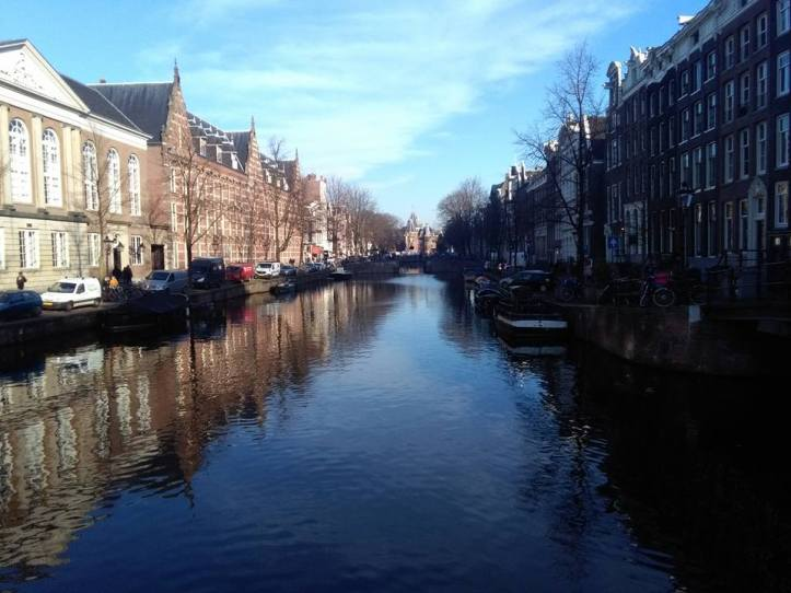 Canals in Amsterdam, Holland, Netherlands.